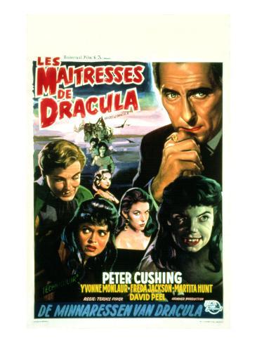 The Brides of Dracula, (aka Les Maitresses De Dracula), 1960 Photographie