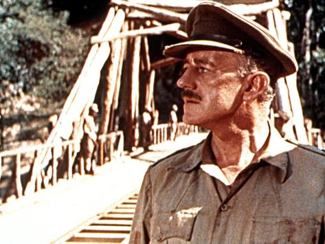 The Bridge On The River Kwai, Alec Guinness, 1957 Photographie