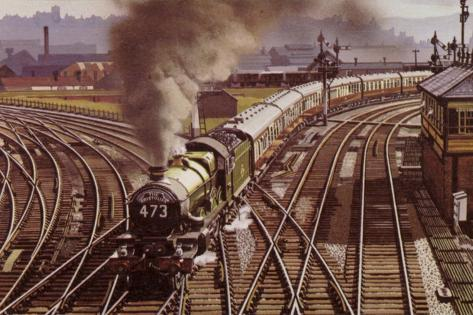 The Bristolian Train Reproduction photographique