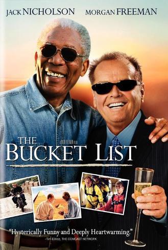 The Bucket List - UK Style Poster