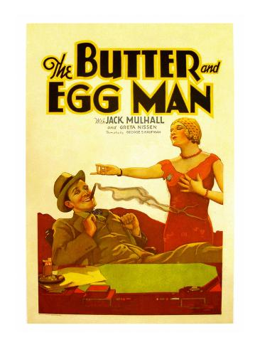 The Butter and Egg Man Reproduction giclée Premium
