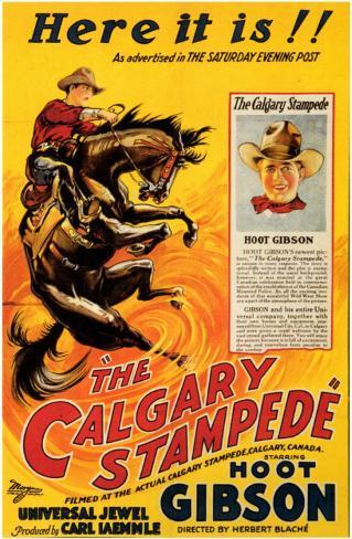 The Calgary Stampede Affiche originale