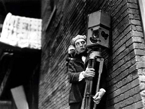 The Cameraman, Buster Keaton, 1928 Photographie