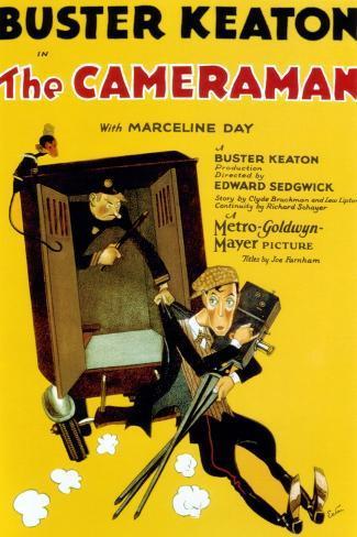 The Cameraman, Buster Keaton, 1928 Reproduction d'art