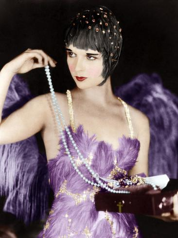 THE CANARY MURDER CASE, Louise Brooks, 1929 Photographie