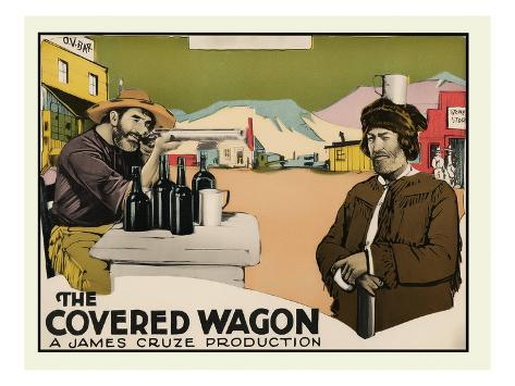 The Covered Wagon Reproduction d'art
