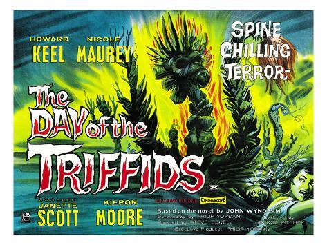 The Day of the Triffids, 1963 Photographie