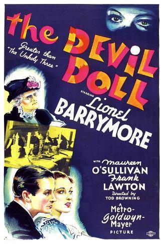 THE DEVIL DOLL Reproduction d'art