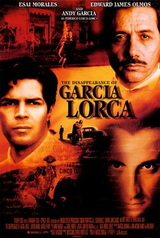 The Disappearance of Garcia Lorca (sortie vidéo) Poster