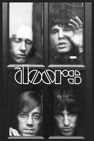 The Doors - Faces In Window Poster