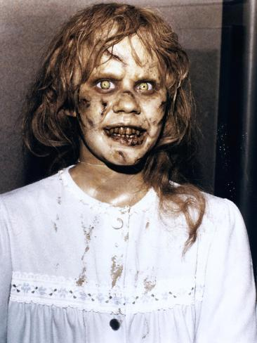 The Exorcist by William Friedkin with Linda Blair, 1973 Photographie