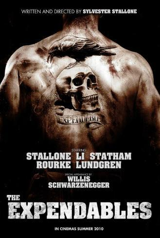 The Expendables - Danish Style Poster