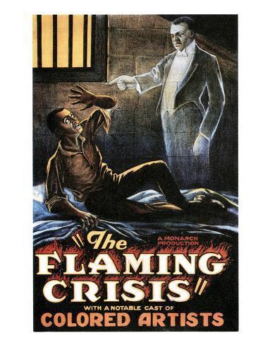 The Flaming Crisis - 1924 Reproduction procédé giclée