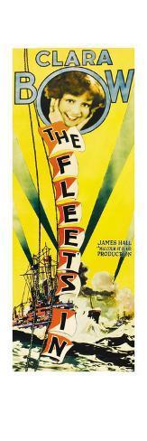 The Fleet's In Reproduction d'art