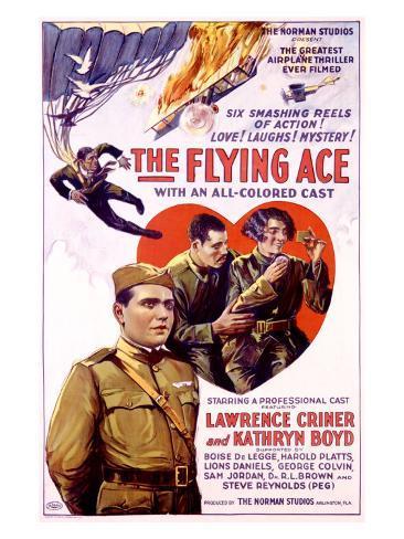 The Flying Ace Reproduction procédé giclée