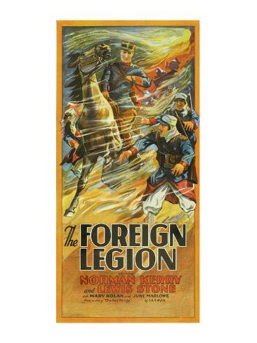 The Foreign Legion Reproduction d'art