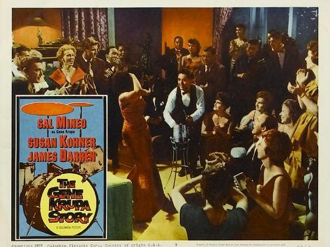 The Gene Krupa Story, 1960 Reproduction d'art