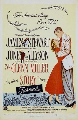 The Glenn Miller Story Affiche originale