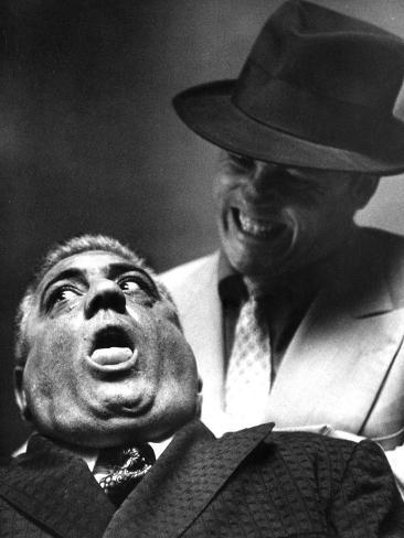 The Godfather, Lenny Montana, 1972 Photographie