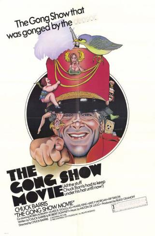 The Gong Show Movie Affiche originale