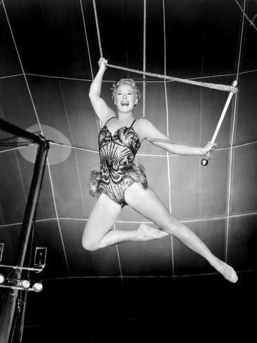 The Greatest Show on Earth, Betty Hutton, 1952 Photographie