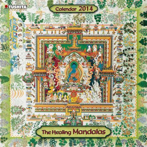The Healing Mandalas - 2014 Calendar Calendriers