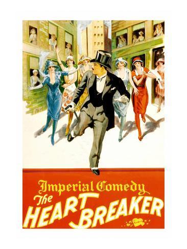 The Heart Breaker Reproduction d'art