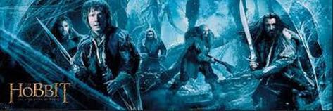 The Hobbit Banner Affiche format porte