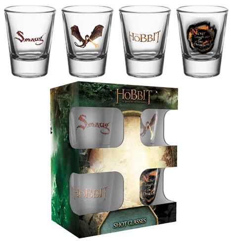 The Hobbit: Battle Of The Five Armies Smaug Shot Glass Set Gadgets