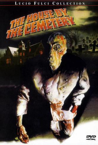 The House by the Cemetery Affiche originale
