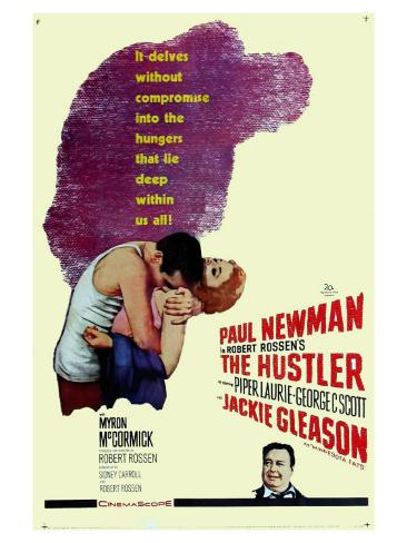 The Hustler, 1961 Reproduction d'art
