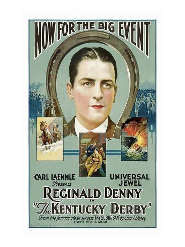 The Kentucky Derby Reproduction d'art
