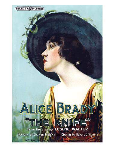 The Knife - 1918 Reproduction procédé giclée