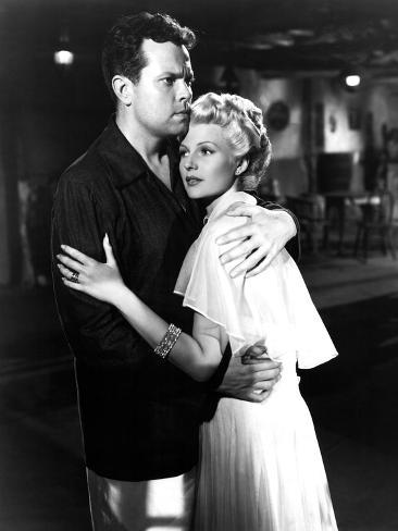 The Lady From Shanghai, Orson Welles, Rita Hayworth, 1947 Photographie