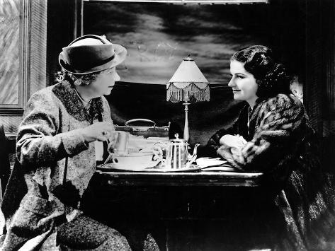 The Lady Vanishes, Dame May Whitty, Margaret Lockwood, 1938 Photographie