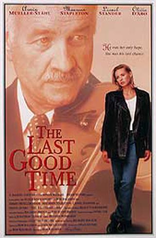 The Last Good Time Affiche originale