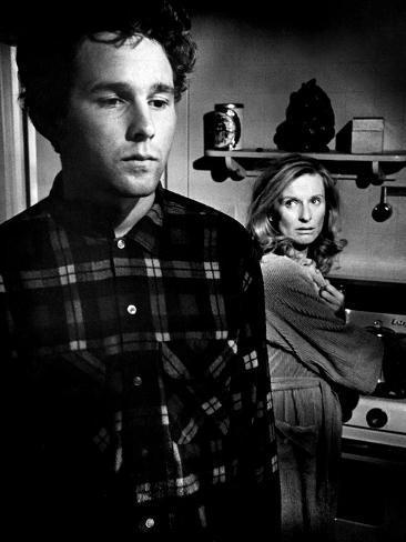 The Last Picture Show, Timothy Bottoms, Cloris Leachman, 1971 Photographie