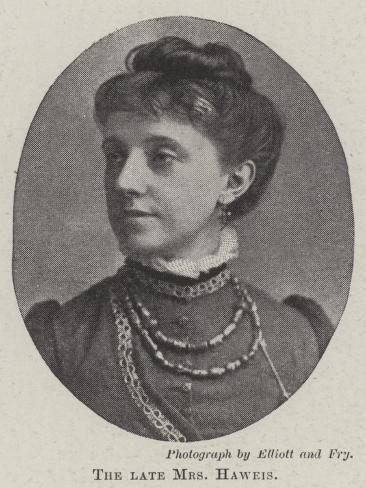 The Late Mrs Haweis Reproduction procédé giclée