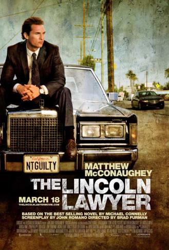 The Lincoln Lawyer Affiche originale
