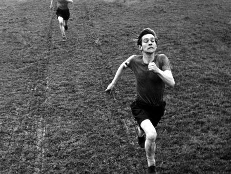 The Loneliness Of The Long Distance Runner, Tom Courtenay, 1962 Photographie