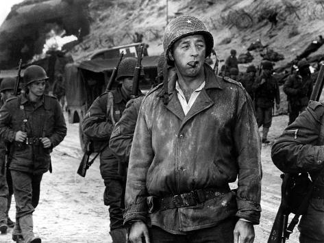 The Longest Day, Robert Mitchum, 1962 Photographie