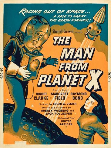 The Man From Planet X, Pat Goldin, Margaret Field, 1951 Reproduction d'art