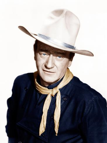THE MAN WHO SHOT LIBERTY VALANCE, John Wayne, 1962 Photographie