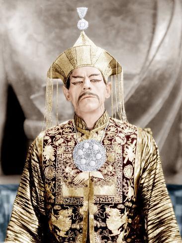 The Mask of Fu Manchu, Boris Karloff, 1932 Photographie