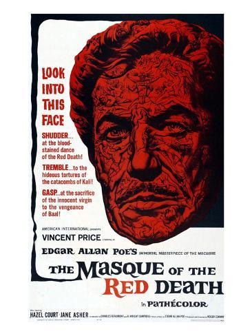 The Masque Of The Red Death, 1965 Photographie