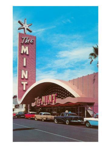 The Mint Hotel, Las Vegas,  Nevada Reproduction d'art