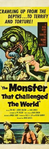 The Monster That Challenged the World Reproduction d'art