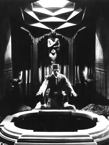 The Mummy, Boris Karloff, 1932 Photographie
