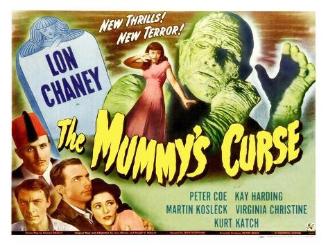 The Mummy's Curse, 1944 Reproduction giclée Premium