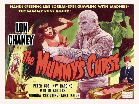The Mummy's Curse, 1944 Reproduction d'art
